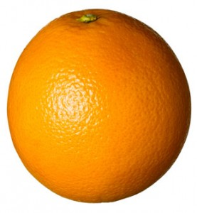 Farven orange
