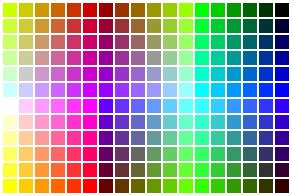 HTML farvekoder